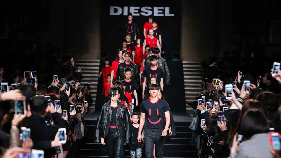 Diesel Catwalk Collection - Shanghai fashion week - Embellishment Design Consultancy and Customisation